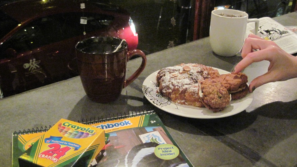 Coffee, Croissant, and Crayons at Chapter House